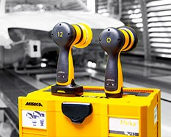 Mirka shines with intelligent new cordless polishers