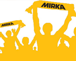 Team Mirka bids for the cup in charity football match